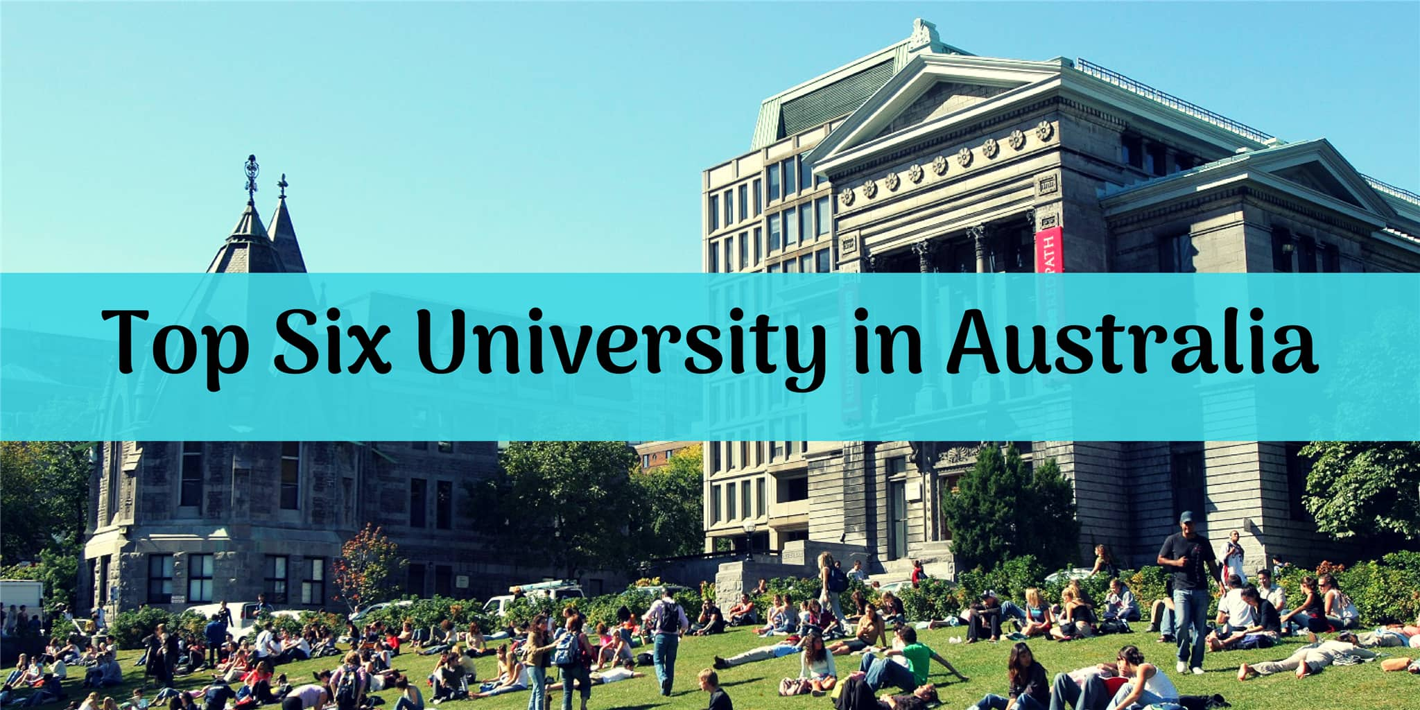 Top Six University in Australia