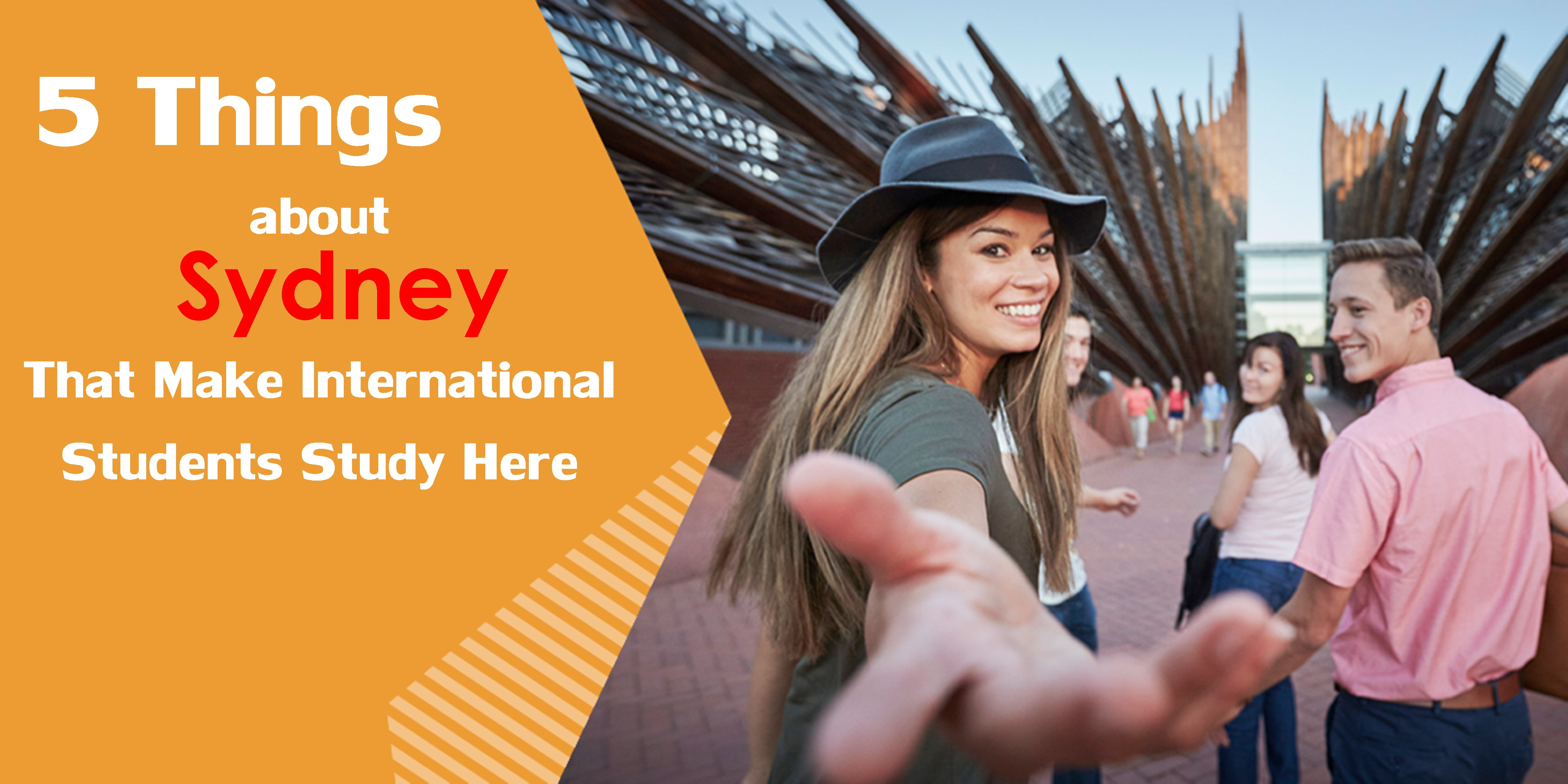 5 Things about Sydney That Make International Students Study Here
