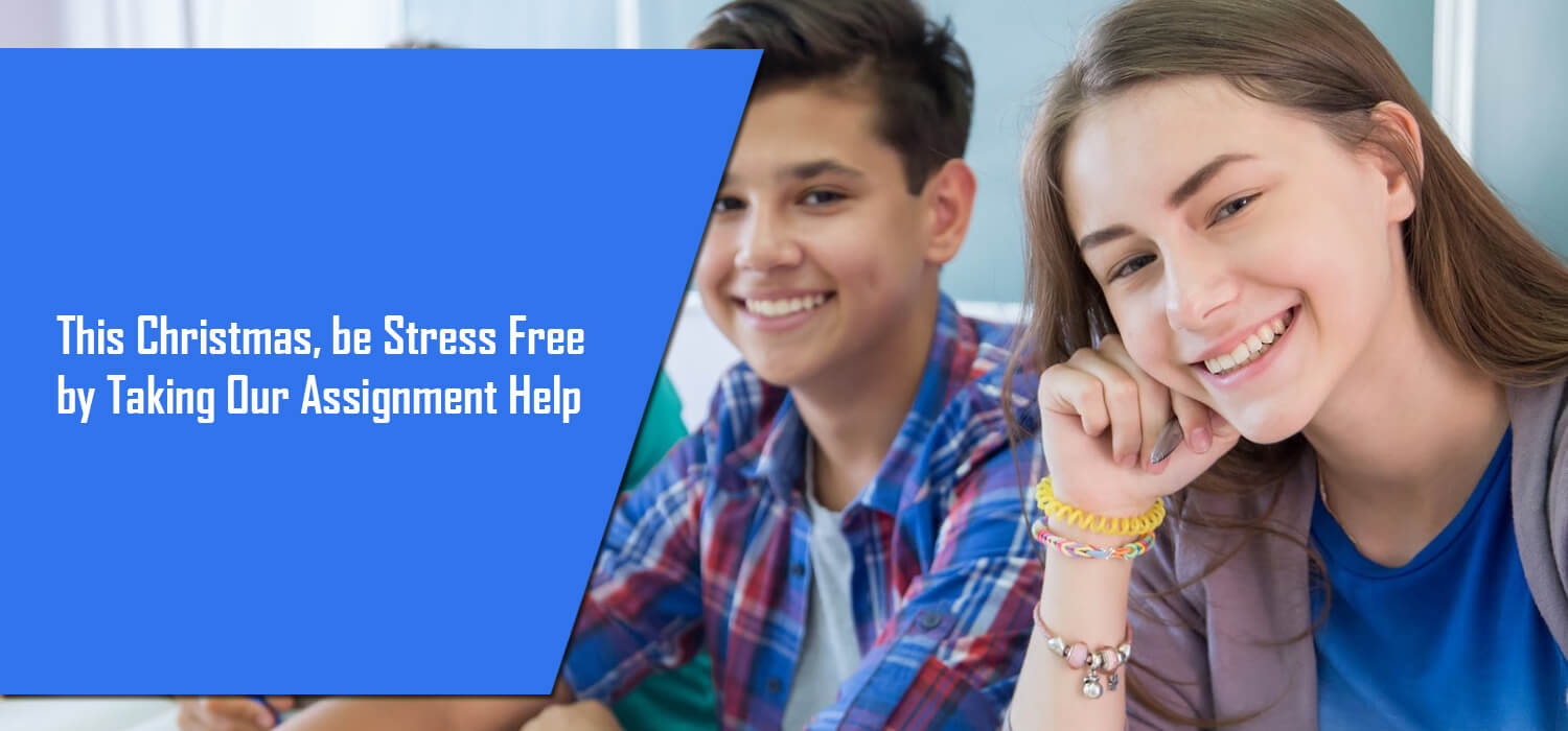 This Christmas, be Stress Free by Taking Our Assignment Help