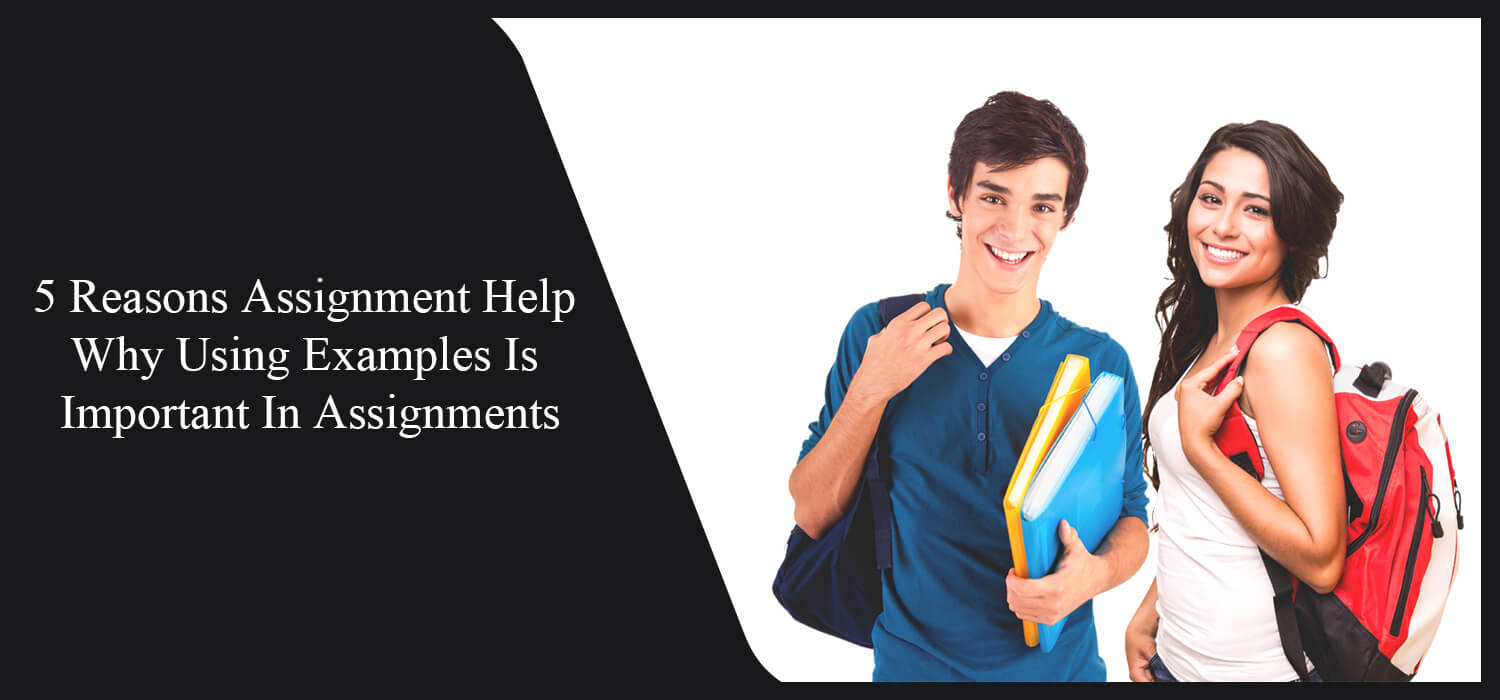 5 Reasons Assignment Help Why Using Examples Is Important In Assignments
