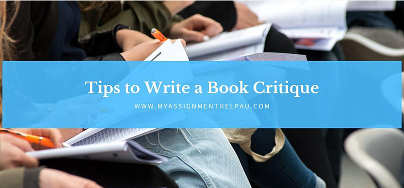 Tips to Write a Book Critique