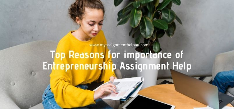 Top Reasons for importance of Entrepreneurship Assignment Help